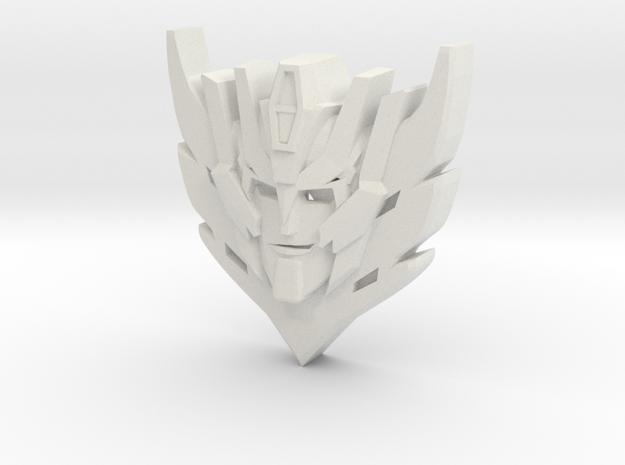 Rodimus Star, Titan Peg Connector in White Natural Versatile Plastic: Small