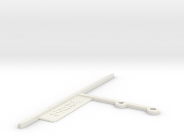 Commodore Ultimate64 64c Mainboard Support in White Natural Versatile Plastic