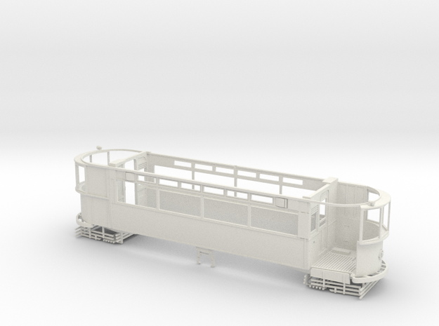 "1:43 London Transport Rehab "" Clapham"" E/1-Part  1 in White Natural Versatile Plastic"