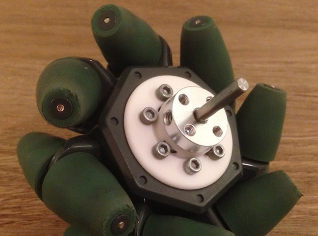 VEX Mecanum Wheel Adapters for FTC