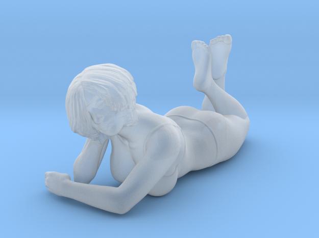 Female Bikini Lying Down in Smoothest Fine Detail Plastic: 1:64 - S