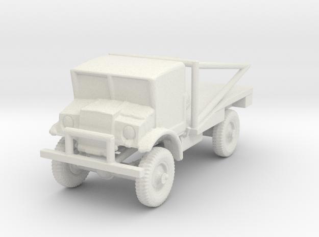 1/144 Scale C60S Wrecker in White Natural Versatile Plastic
