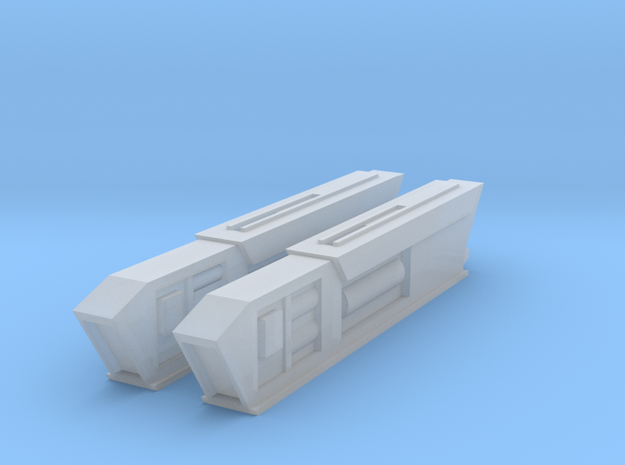 Turtleshell Antagonist Nacelles 2 in Smooth Fine Detail Plastic