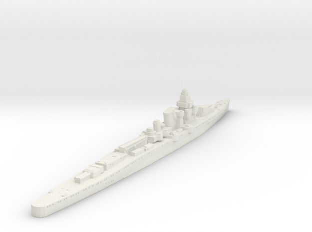 Furutuka Class heavy Cruiser  in White Natural Versatile Plastic