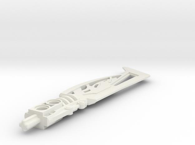Magma Sword in White Natural Versatile Plastic