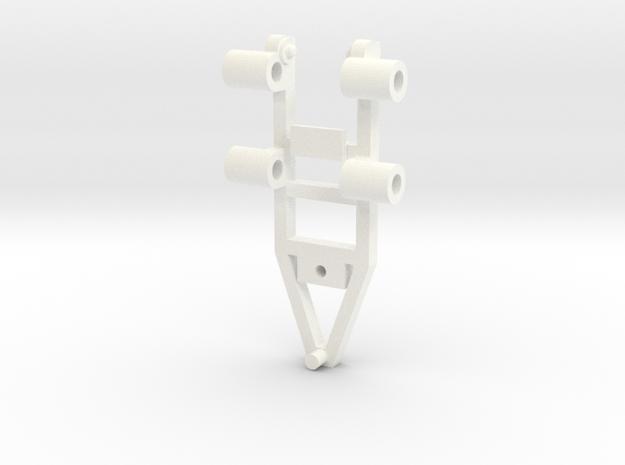 Tile Stringer Frame in White Processed Versatile Plastic