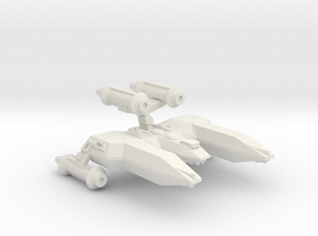 3125 Scale LDR Heavy War Destroyer (HDW) CVN in White Natural Versatile Plastic