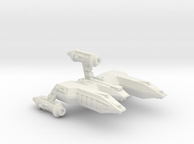 3788 Scale WYN Pocket Battlecruiser CVN in White Natural Versatile Plastic
