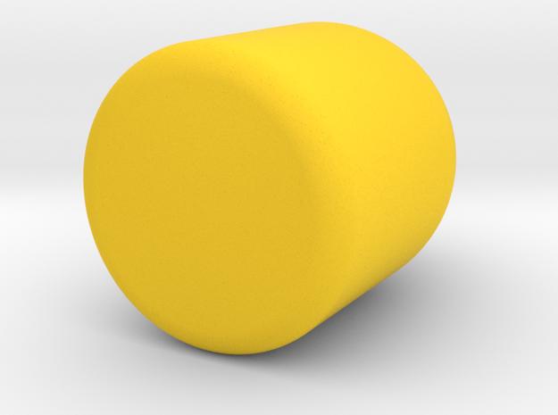 Medium Stout in Yellow Processed Versatile Plastic