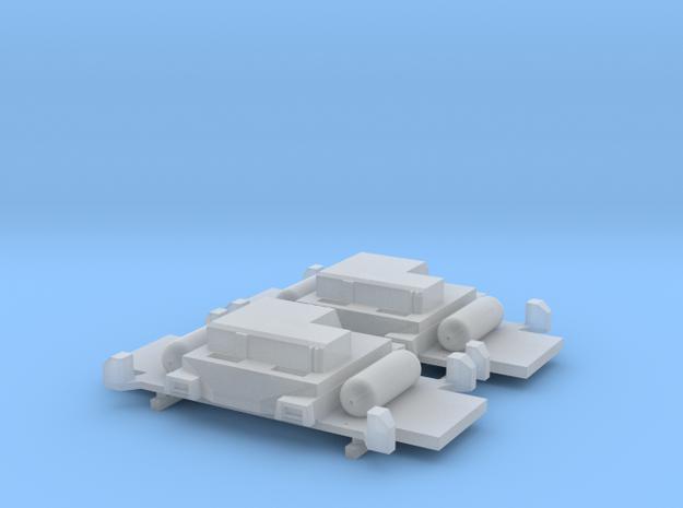 Minitrix 1855 NL-onderbouw in Smoothest Fine Detail Plastic