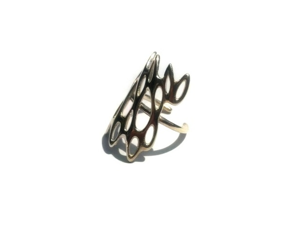 Fantasia Ring in Polished Silver