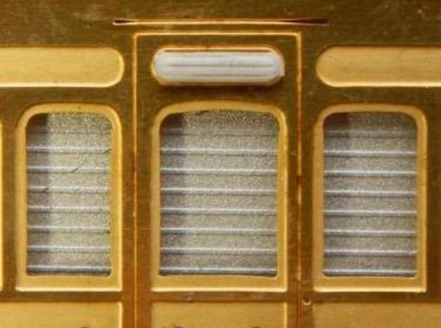 Door vents for GER coaches of the 1870s in Smooth Fine Detail Plastic
