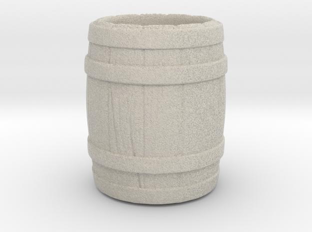 "A glass of ""barrel"" in Natural Sandstone"
