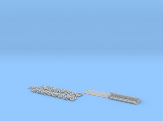 HO/1:87 spmt 4 axles (without ppu) in Smooth Fine Detail Plastic