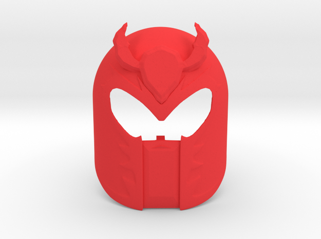 Mask of Magnetism - Magneto  in Red Processed Versatile Plastic