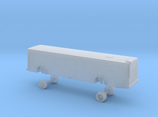 N Scale Bus Gillig Low Floor MST 2101-2104 in Smooth Fine Detail Plastic