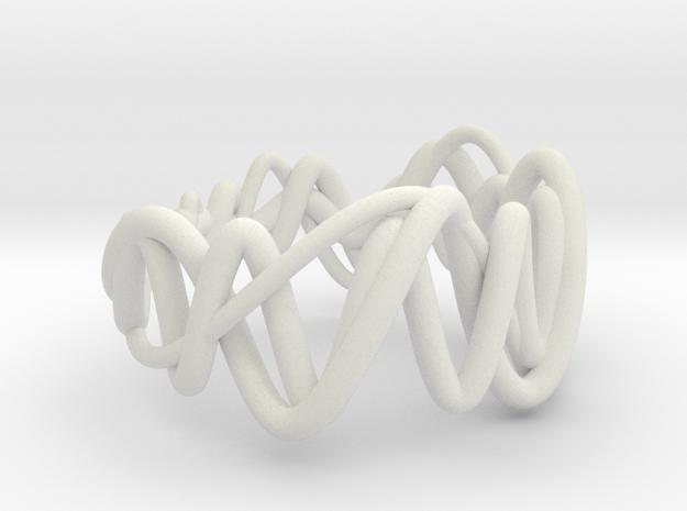 vort ring small (95%) in White Natural Versatile Plastic
