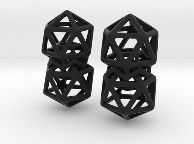 Dodeca Joint in Black Natural Versatile Plastic