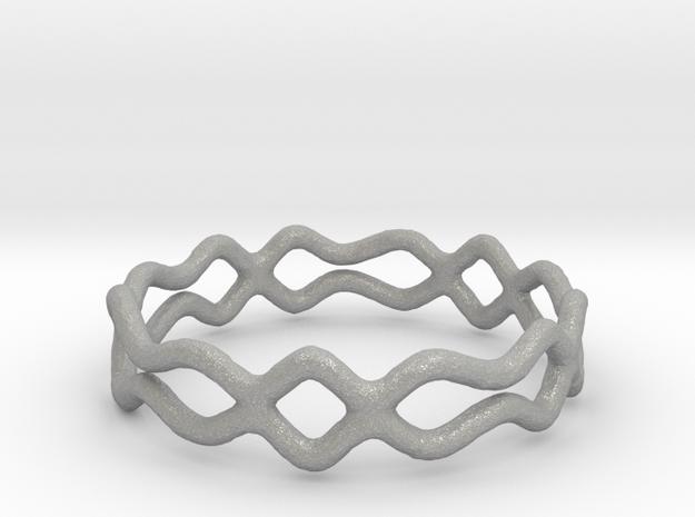 Ring 08 in Aluminum