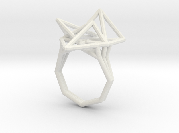 tetryn ring wide wf 110 in White Natural Versatile Plastic