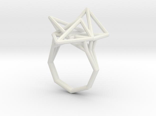 Tetryn Wide Wf 8 in White Natural Versatile Plastic