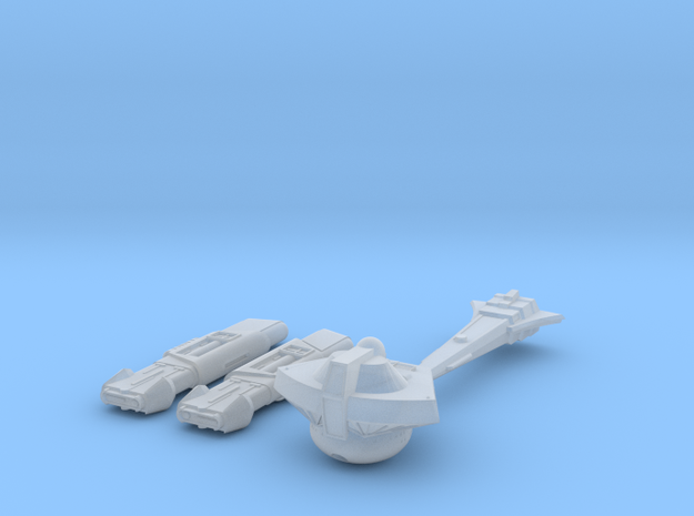 2500 Pointy-Eared Adversary Stormbird Cnvrsion Par in Smooth Fine Detail Plastic