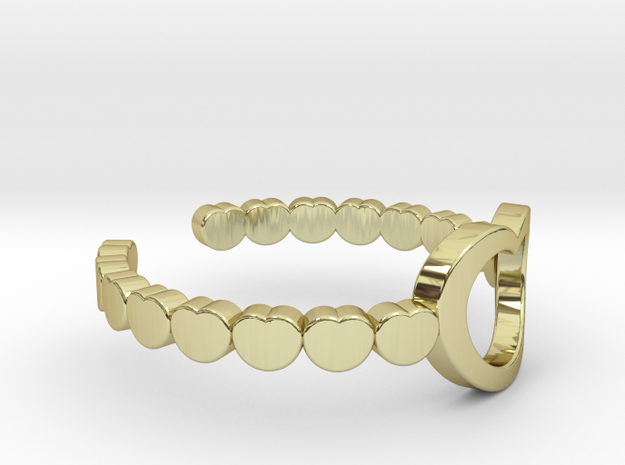 ring 03a in 18K Yellow Gold