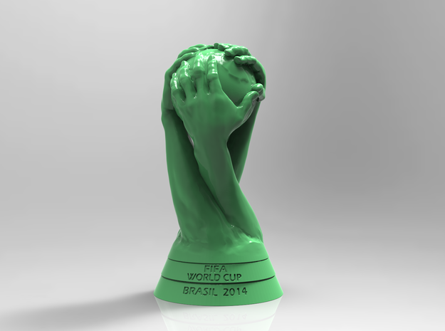 FIFA World Cup Brasil 2014 Logo Cup Design 20cm 3d printed