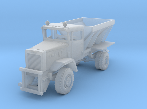 1/87 FWD RB4 Plow Truck in Smoothest Fine Detail Plastic
