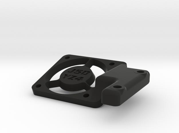 J5D YZ4-SF Fan Mount in Black Natural Versatile Plastic