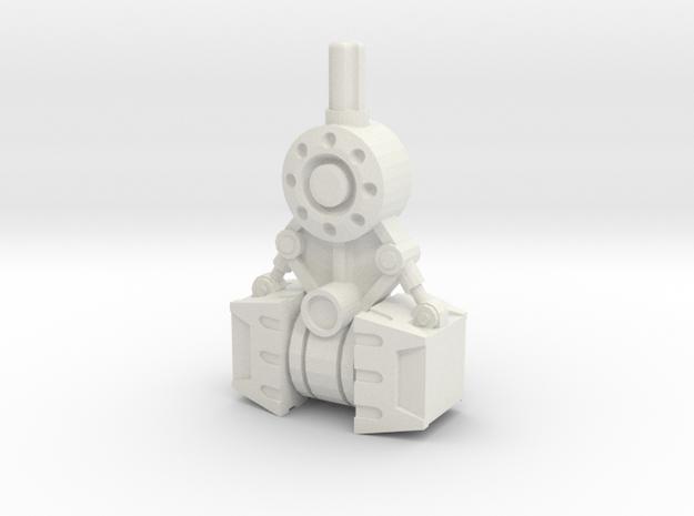Gravity Hammer in White Natural Versatile Plastic