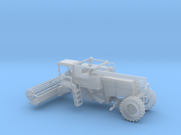N Farm Combine V2 with Grain Header in Smooth Fine Detail Plastic