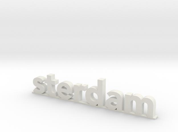 I amsterdam (2/2) in White Natural Versatile Plastic