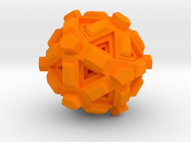 Amaze-ball in Orange Processed Versatile Plastic