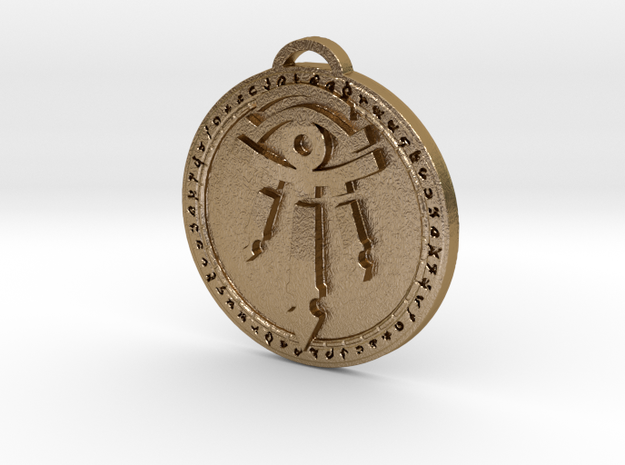 Kirin Tor of Dalaran Faction Medallion in Polished Gold Steel