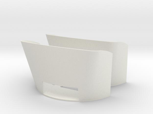 RC4WD Blazer - Inner Fender Dual shock in White Natural Versatile Plastic