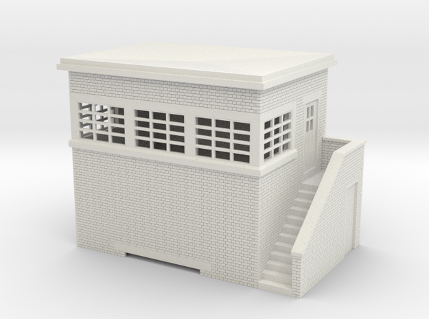 z-76-lms-arp-signal-box-small-rh in White Natural Versatile Plastic
