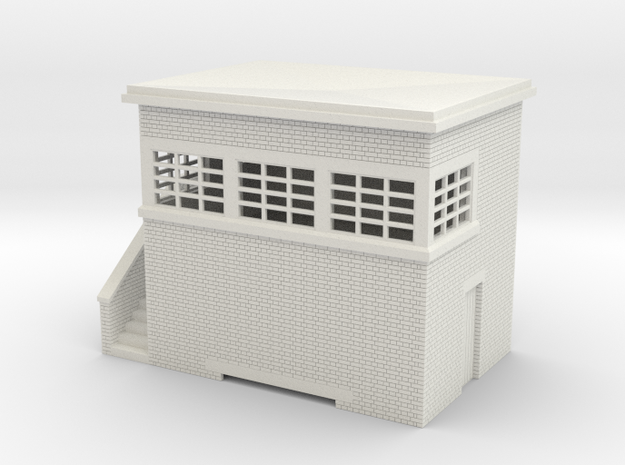 z-76-lms-arp-signal-box-small-lh in White Natural Versatile Plastic