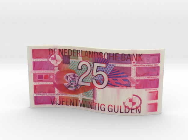 25 gulden biljet