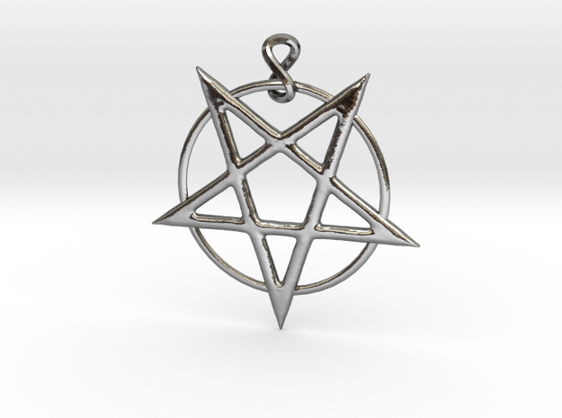 pentcombinedscaled in Polished Silver