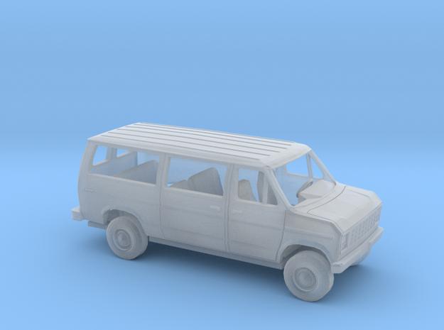 1/160 1975 -91 Ford E Van Sliding Side Door Kit in Smooth Fine Detail Plastic