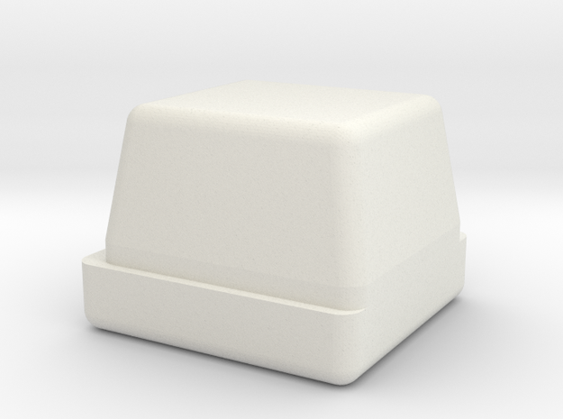 Commodore Ultimate64 64c Power Button (LED Style) in White Natural Versatile Plastic