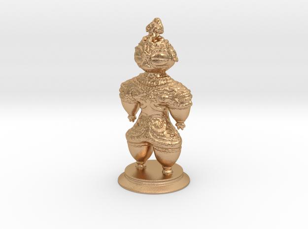 Dogū statue in Natural Bronze