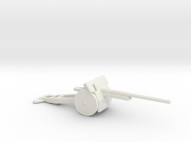 10 cm Kanone m17 1/200 in White Natural Versatile Plastic