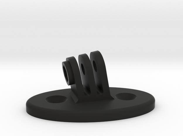 Miata visor Gopro mount in Black Natural Versatile Plastic
