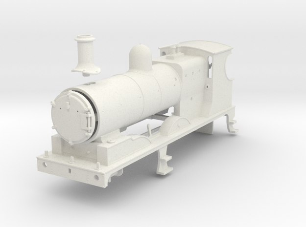 L&YR Class 28 (657) - (WSF) in White Natural Versatile Plastic