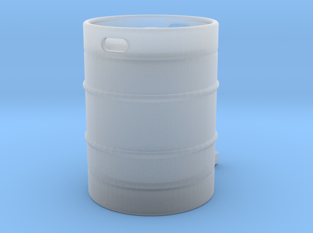 Beer Keg 1:20.3 in Smooth Fine Detail Plastic