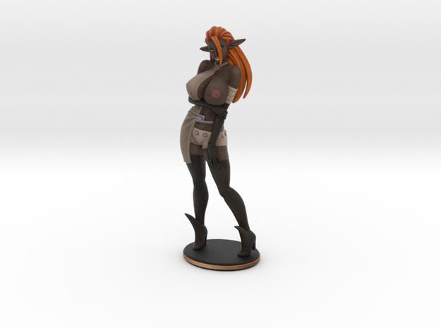 Print Black Dame Topless 200mm in Natural Full Color Sandstone