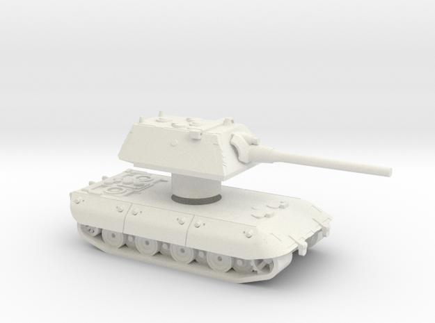 E-100 1:56 Rotatable turret  in White Natural Versatile Plastic
