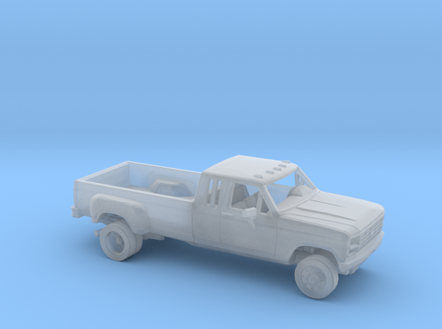 1/160 1980-86 Ford F-Series Ext.Cab Dually Kit in Smooth Fine Detail Plastic